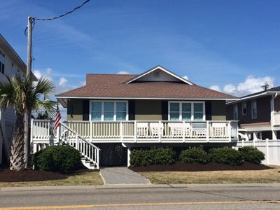 Photo for Modern Lux Home! OCEAN WATER VIEWS, STEPS TO OCEAN, SLEEPS 12, Pet Friendly WIF