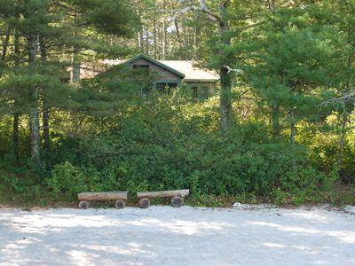 Photo for Cottage on Beautiful Long Pond  with Fantastic Sandy Lakefront Beach