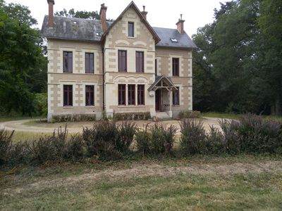 Photo for 8BR House Vacation Rental in Vallières-les-Grandes, Centre-Val de Loire