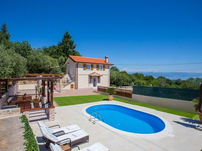 Photo for Villa Olive with Pool and Sea View