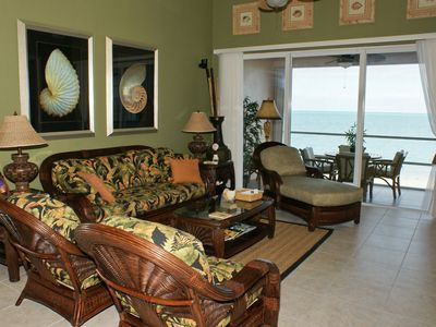Photo for Beachfront, Beautiful & Comfy - 7th Night FREE!