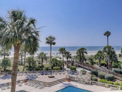 Photo for Two Bedroom Single-Floor Condominium with Oceanfront Views from Every Room!