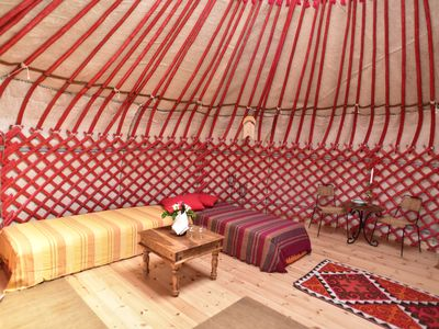 Photo for Kyrgyz yurt located in Vitsøhus Permaculture Garden