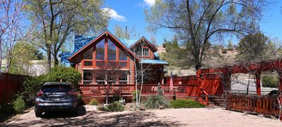 Photo for Upscale 2 BR Chalet, only 2 Blocks to Square - Home Office - On-Site Parking**
