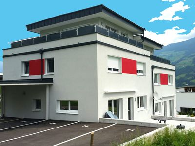 Photo for Luxurious holiday home with panoramic view very close to the Spieljochbahn