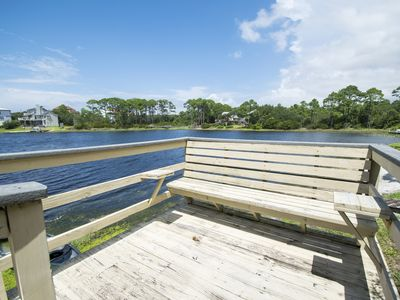 Photo for Bellevue - Enjoy Magnificent Views Of Coastal Dune Lake, Lake Stallworth