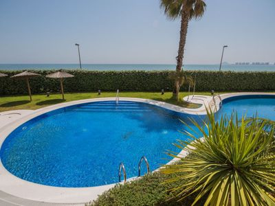 Photo for Apartment Urb Punta Cormorán in La Manga del Mar Menor - 4 persons, 2 bedrooms