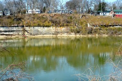 Our back yard…. the lovely Cumberland River...