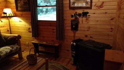 Photo for Valle Crucis Farm Cabin Rental offers hiking, fishing, sledding on property.