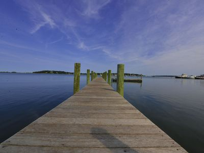 Photo for Waterfront Estate on Shelter Island. 100 Ft DOCK