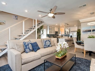 Photo for NEW LISTING! Contemporary beach condo less than a block from the beach!