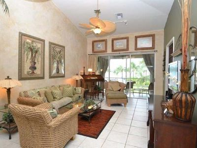 Photo for Luxurious Bahama Beachfront 3/2 with 6 person Golf Cart!