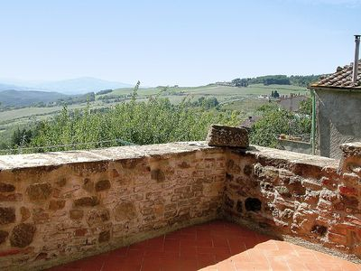 Photo for Apartment in Montecatini Val di Cecina with Internet, Washing machine, Balcony, Terrace (117079)