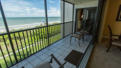 Photo for Direct Gulf Front Sundial E208 Two Bedroom plus Den - Completely Remodeled!