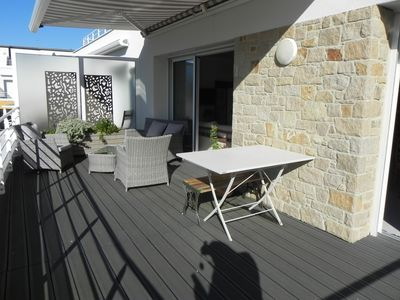 Photo for PERROS-GUIREC. TOWN CENTER AND BEACH ON FOOT FOR THIS BEAUTIFUL APARTMENT.