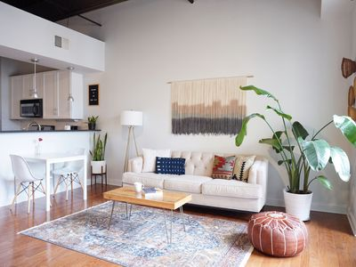 Photo for The Boho Loft - Modern condo in Southpark