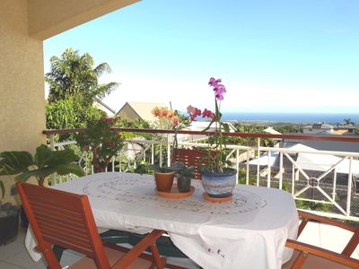 Photo for Apartment of very good quality with magnificent sea view