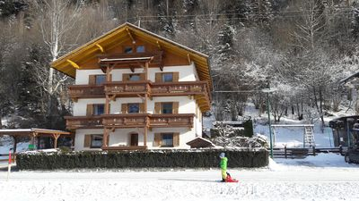 Photo for Apartment in Stumm im Zillertal, located at the food of the sunny western slope.