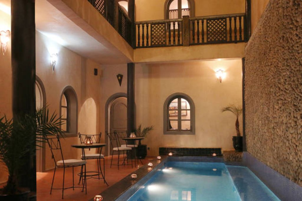 Riad la kasbah de jade and spa 19 euros par personne for Riad marrakech piscine chauffee