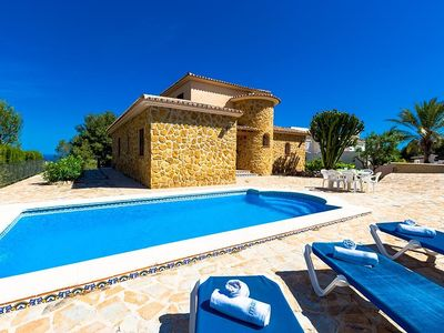Photo for Villa in Benissa with Internet, Washing machine, Pool (260981)