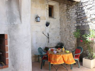 Photo for One bedroom Apartment, sleeps 5 in Calvisson with WiFi