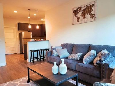 Photo for Spacious Old Town Condo | 1st Floor | King Bed