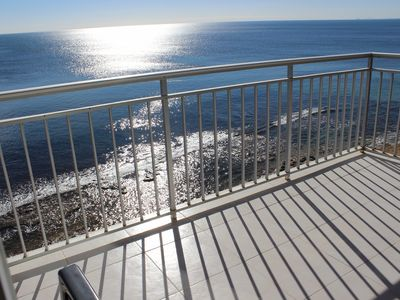 Photo for APARTMENT 1 LINE OF THE BEACH LOS NAUFRAGOS