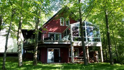 Photo for Fishing Casinos Golf Dining & Stay in a 4 Season Cabin on a Quiet Private Lake