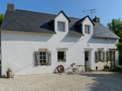 Photo for Charming house, pleasant and ideal for a relaxing family holiday