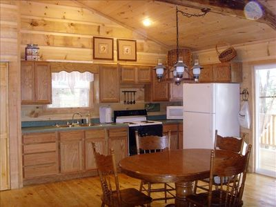 Secluded TN cabin for two- fully stocked kitchen
