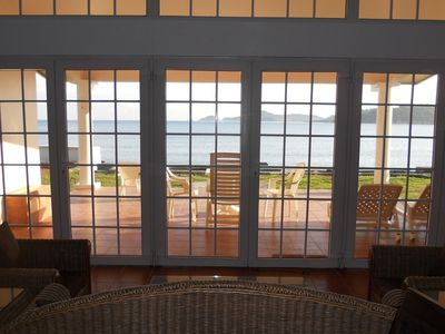 Photo for Spectacular Caribbean Beachfront Home Private beach access and incredible views.
