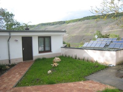 Photo for Cosy holiday home, with a garden that overlooks the Moselle and the vineyards