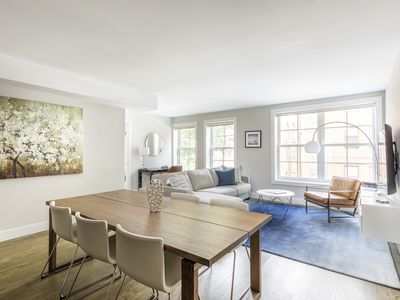 Photo for Modern + Elegant 2 BR Loft near Grove St PATH