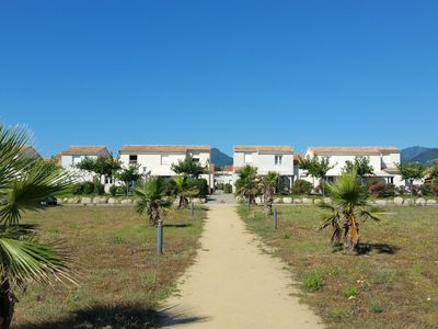 Photo for Air-conditioned accommodations on Corsica right on the beach and sea