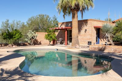 View of the private Casita and shared pool