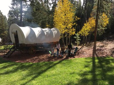 Photo for Covered Wagons (Wagon #3) Between Zion and Bryce