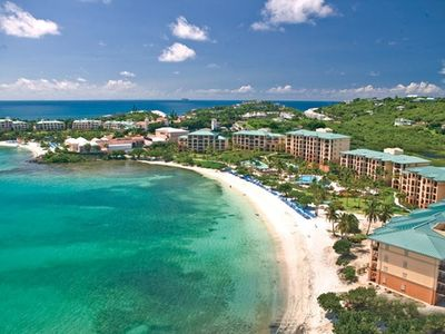 St Thomas USVI. Ritz Carlton 2 or 3 Bedroom Suite right on the Beach