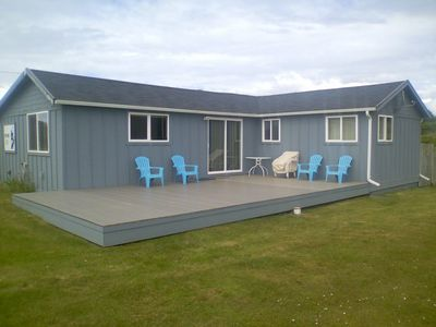 Photo for Moclips Neptune Ocean View, Wi-Fi, Pets, Fenced back yard. fire pit