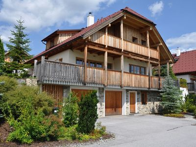 Photo for Luxurious 5-star chalet with in-house wellness area and breathtaking view