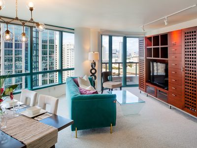 Photo for Perfect Waikiki Location!  Walk to the Beach, Restaurants and Shopping!