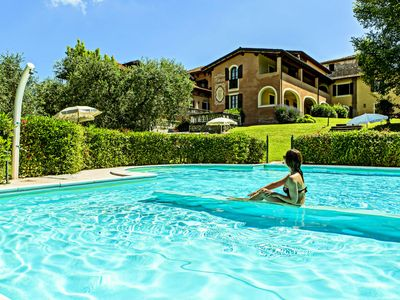 Photo for This pleasant residence is situated in Saló, close to the famous Lake Garda