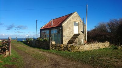 Photo for Beautiful Cottage On The Cliff Top With Stunning Sea Views