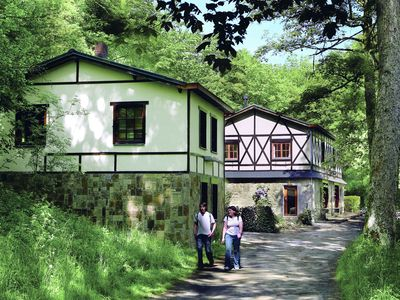 Photo for Uniquely situated holiday home with new wellness area, in the nature preserve