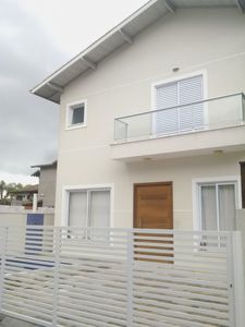 Photo for House in Maresias, Av. of the beach in cond closed, churrasq and private swimming pool