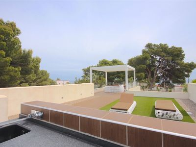 Photo for Chalets PINETE and CASUP, sea front, Las Rotas, sleeps 8-9 – Dénia, Las Rot