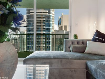 Photo for Penthouse 43rd FL / BED ON BALCONY / Luxury Living