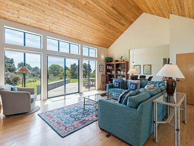 Photo for Private home on meadow w/ partial ocean view & private hot tub- Blair