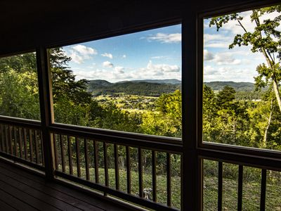 Photo for 2 Bedroom Luxury Cabin that Borders the Smoky Mountain National Park