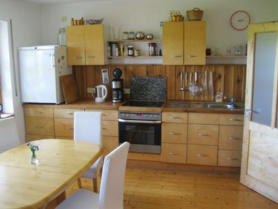 Photo for idyllic apartment at the foot of the Rhön