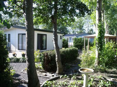 Photo for Cozy chalet with a combi microwave, near the Wadden Sea